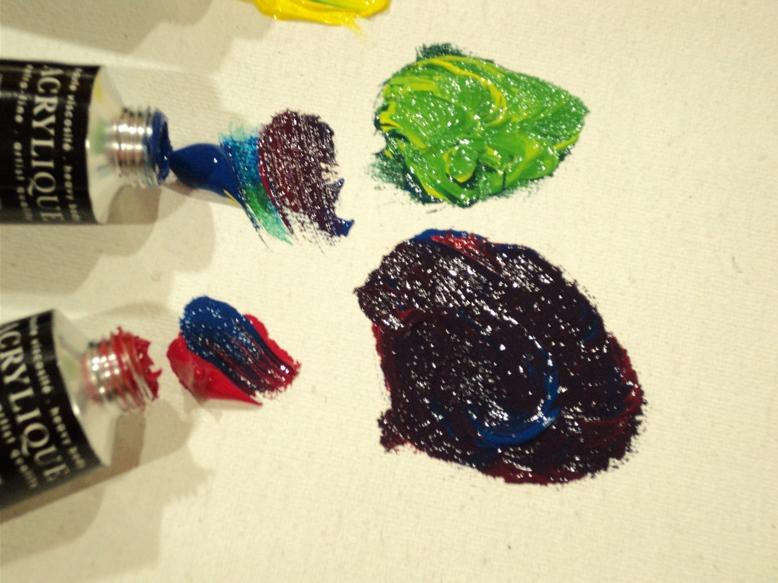 colores primarios Acrílico Extrafino Sennelier