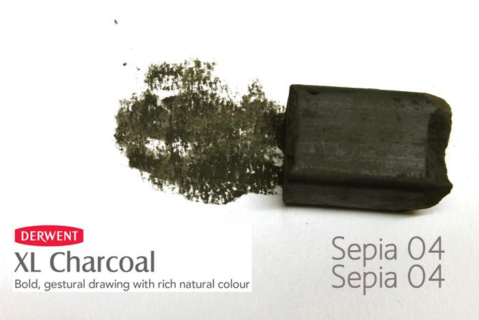 CARBONCILLO XL DERWENT SEPIA SEPIA 04