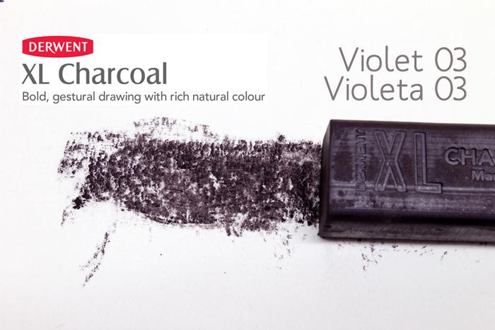 CARBONCILLO XL DERWENT VIOLET VIOLETA 03