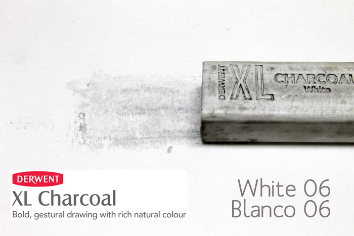 CARBONCILLO XL DERWENT WHITE BLANCO 06