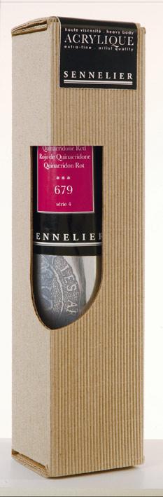 Acrilico Sennelier tubo 200 ml