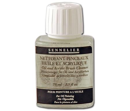 Limpador pinceles Sennelier óleo y acrilico