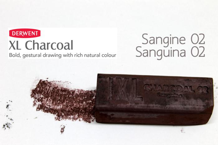 CARBONCILLO XL DERWENT SANGUINE SANGUINA 02